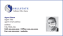 Agent Business Card - Design 105BC